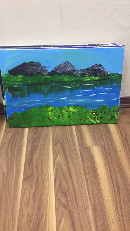 Em bé 5 tuổi và những bức vẽ khiến người lớn phải cùng thốt lên một lời cảm thán - ảnh 2