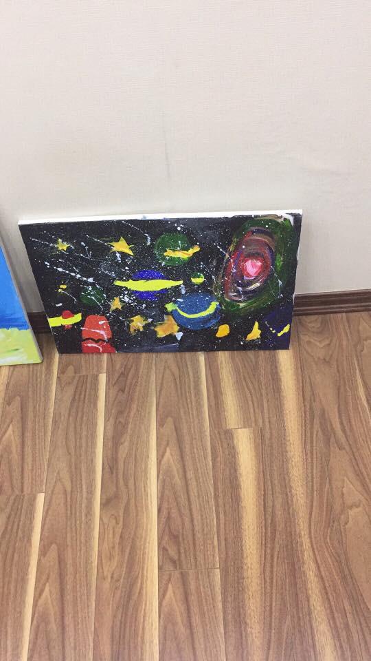 Em bé 5 tuổi và những bức vẽ khiến người lớn phải cùng thốt lên một lời cảm thán - ảnh 6