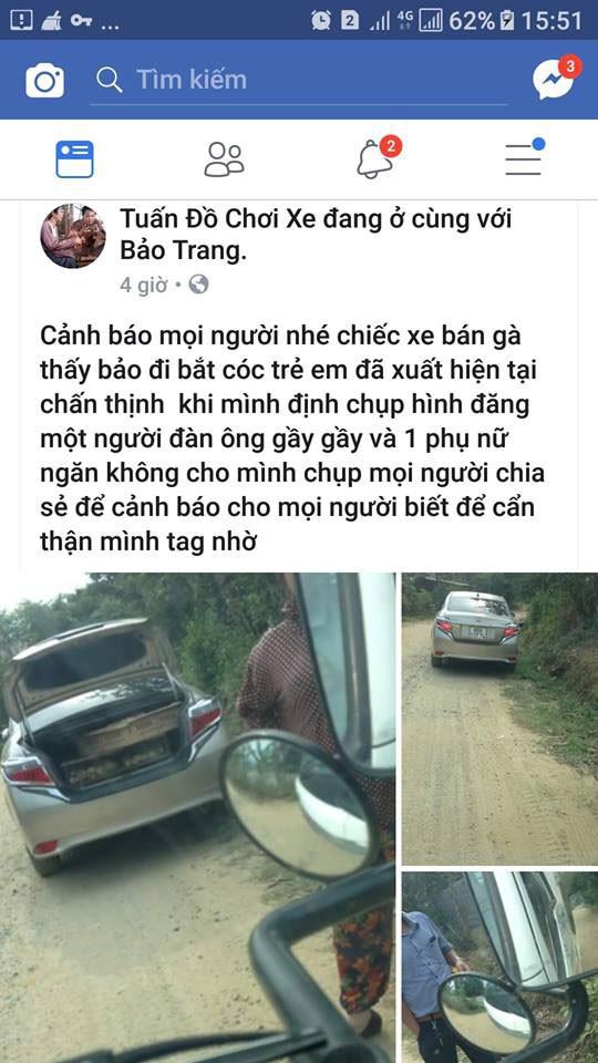 Dân vây bắt hai vợ chồng đi ô tô bán gà giống vì nghi ngờ bắt cóc trẻ em - ảnh 5