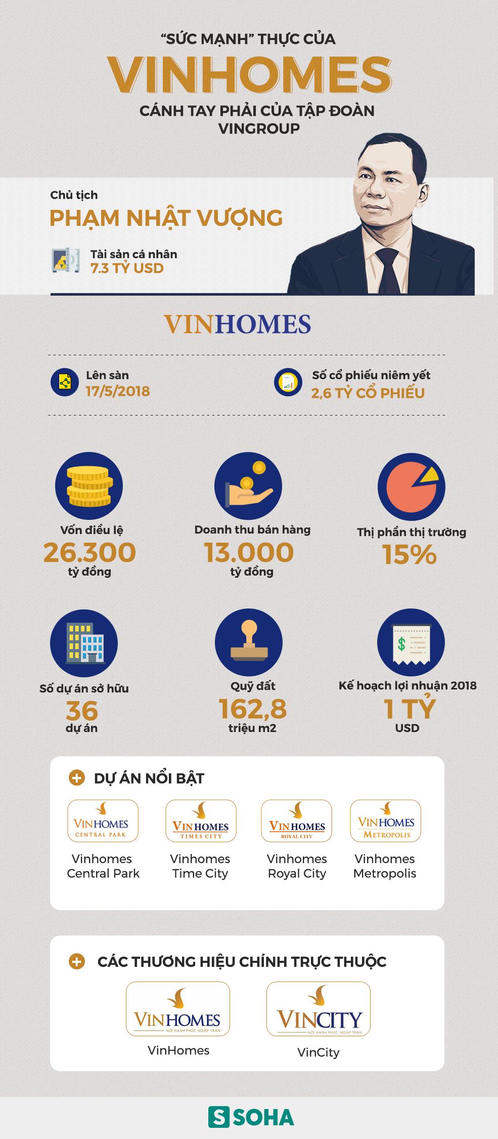 Những con số khủng về Vinhomes - siêu công ty địa ốc của Vingroup vừa lên sàn - Ảnh 1.