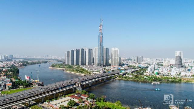 Cận cảnh công trường thi công đỉnh tòa nhà cao nhất Việt Nam, dự kiến khai trương vào quý 4 - Ảnh 5.
