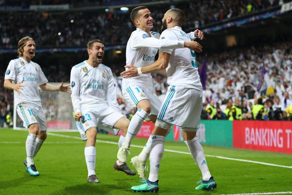 Real Madrid Vs Bayern Munich Ban Ket