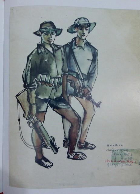 """""""Tôi đã bán nhiều thứ nhưng những bức vẽ ở chiến trường thì không"""" - Ảnh 3."""