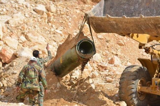Quân đội Syria chiếm giữ kho vũ khí khủng và tên lửa đạn đạo của phe thánh chiến ở Qalamoun