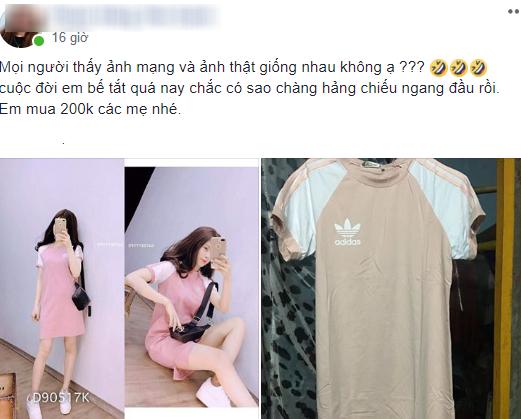 Bỏ 200 nghìn mua váy online khác xa hình, khách còn bị mắng chụp ảnh không có tâm - Ảnh 1.