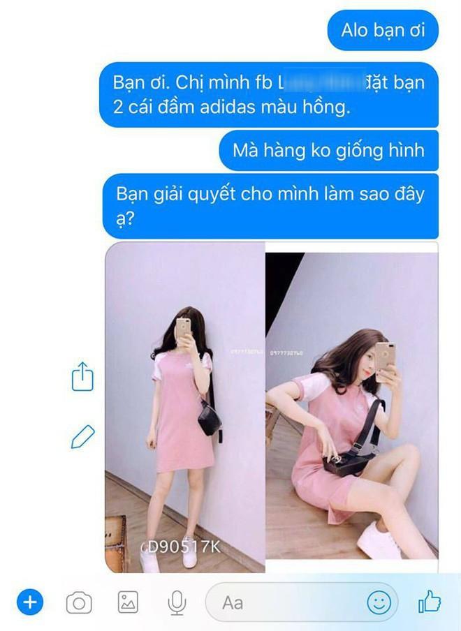 Bỏ 200 nghìn mua váy online khác xa hình, khách còn bị mắng chụp ảnh không có tâm - Ảnh 3.