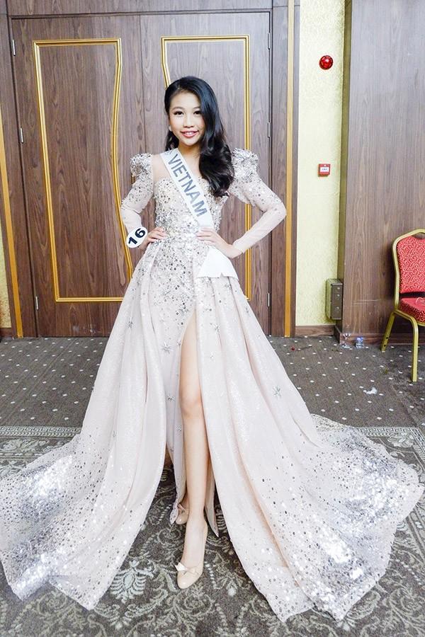 Chân dung cô bé Việt 13 tuổi cao 1m72 vừa giành ngôi Hoa hậu Hoàn vũ nhí thế giới 2018 - Ảnh 1.