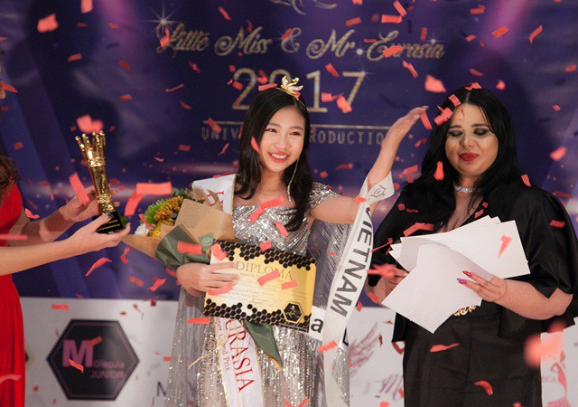Chân dung cô bé Việt 13 tuổi cao 1m72 vừa giành ngôi Hoa hậu Hoàn vũ nhí thế giới 2018 - Ảnh 12.