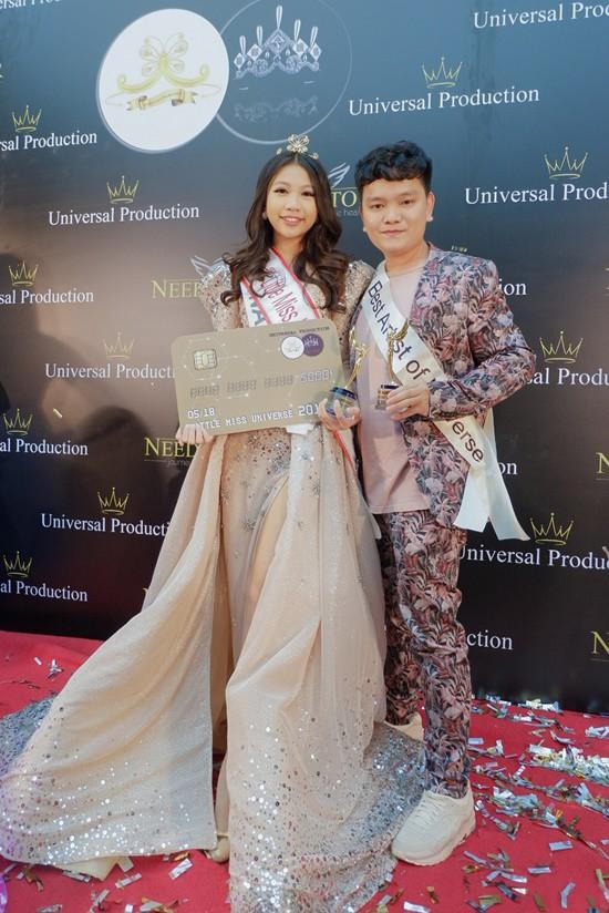 Chân dung cô bé Việt 13 tuổi cao 1m72 vừa giành ngôi Hoa hậu Hoàn vũ nhí thế giới 2018 - Ảnh 2.