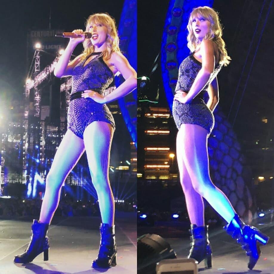 Giật cả mình với loạt ảnh phì nhiêu phá dáng hết cỡ của Taylor Swift