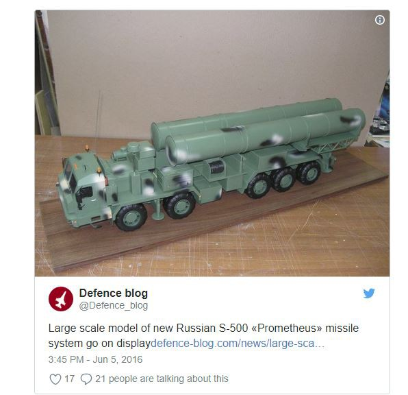 Chuyên gia Nga: Sự thật sau việc truyền hình Mỹ công bố bí mật ai cũng biết về S-500 - Ảnh 1.