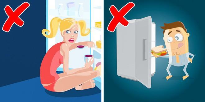 6 sai lầm trước khi ngủ khiến chúng ta tăng cân vào ban đêm - Ảnh 2.