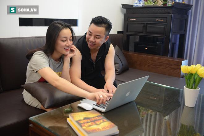 Cận cảnh cơ ngơi tiền tỷ của Hữu Công và vợ hot girl tại Hà Nội - Ảnh 2.