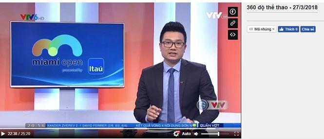 """BTV Minh Tiệp bị dừng lên sóng những chương trình nào? - Ảnh 2. Chương  trình """"360 độ thể thao"""" ..."""