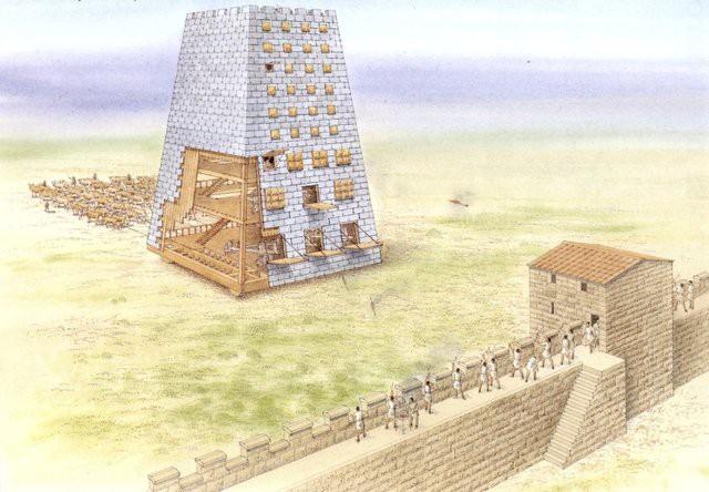5 siêu vũ khí uy lực thời cổ đại: Cái số 2 cần tới 3.400 người để di chuyển - Ảnh 3.