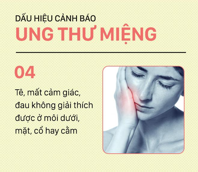 [PHOTOSTORY] Đừng nhầm lẫn với bệnh ở miệng, đây là những dấu hiệu cảnh báo ung thư mà bạn nên nhớ - Ảnh 4.