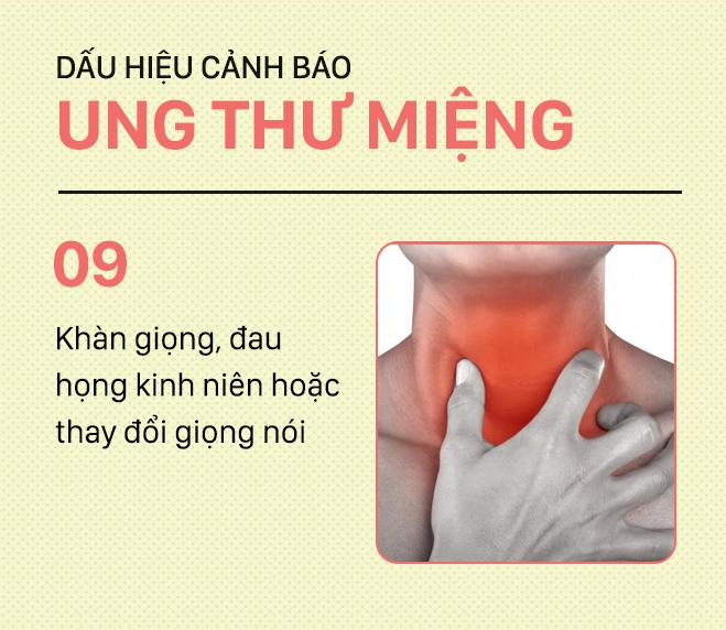 [PHOTOSTORY] Đừng nhầm lẫn với bệnh ở miệng, đây là những dấu hiệu cảnh báo ung thư mà bạn nên nhớ - Ảnh 9.