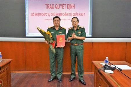 Đại tá Đỗ Văn Bảnh được bổ nhiệm chức vụ Chủ nhiệm Chính trị Quân khu 7 - Ảnh 2.