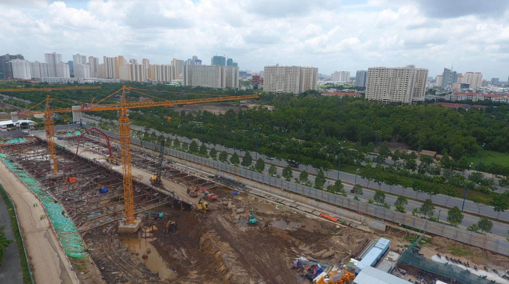 Diện mạo bán đảo Thủ Thiêm - khu đô thị đẹp nhất Sài Gòn nhìn từ trên cao - Ảnh 13.