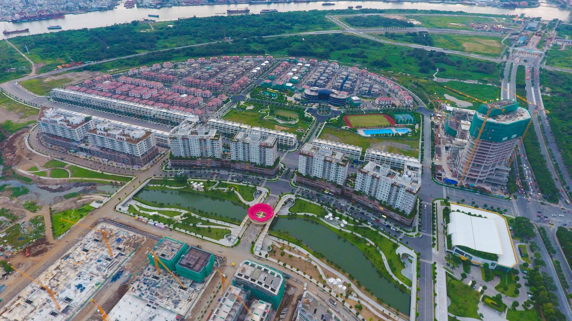 Diện mạo bán đảo Thủ Thiêm - khu đô thị đẹp nhất Sài Gòn nhìn từ trên cao - Ảnh 2.