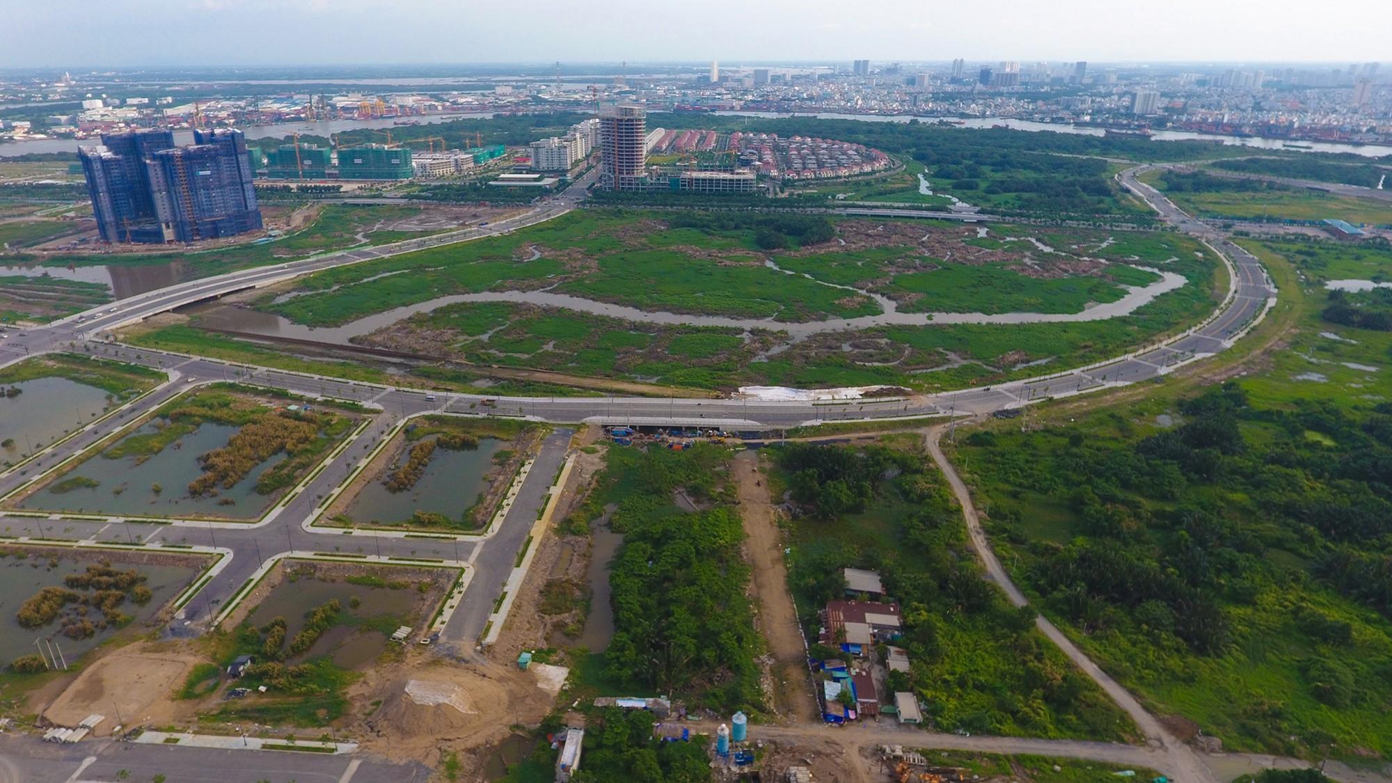 Diện mạo bán đảo Thủ Thiêm - khu đô thị đẹp nhất Sài Gòn nhìn từ trên cao - Ảnh 11.