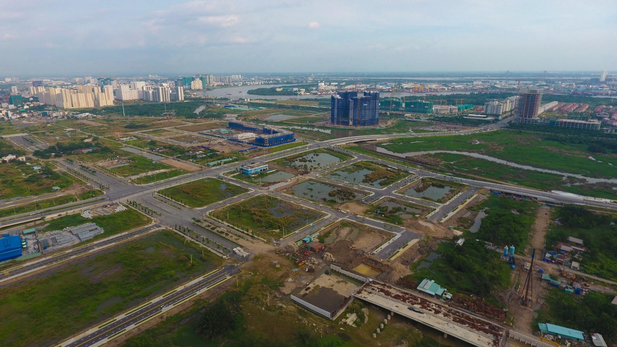 Diện mạo bán đảo Thủ Thiêm - khu đô thị đẹp nhất Sài Gòn nhìn từ trên cao - Ảnh 10.