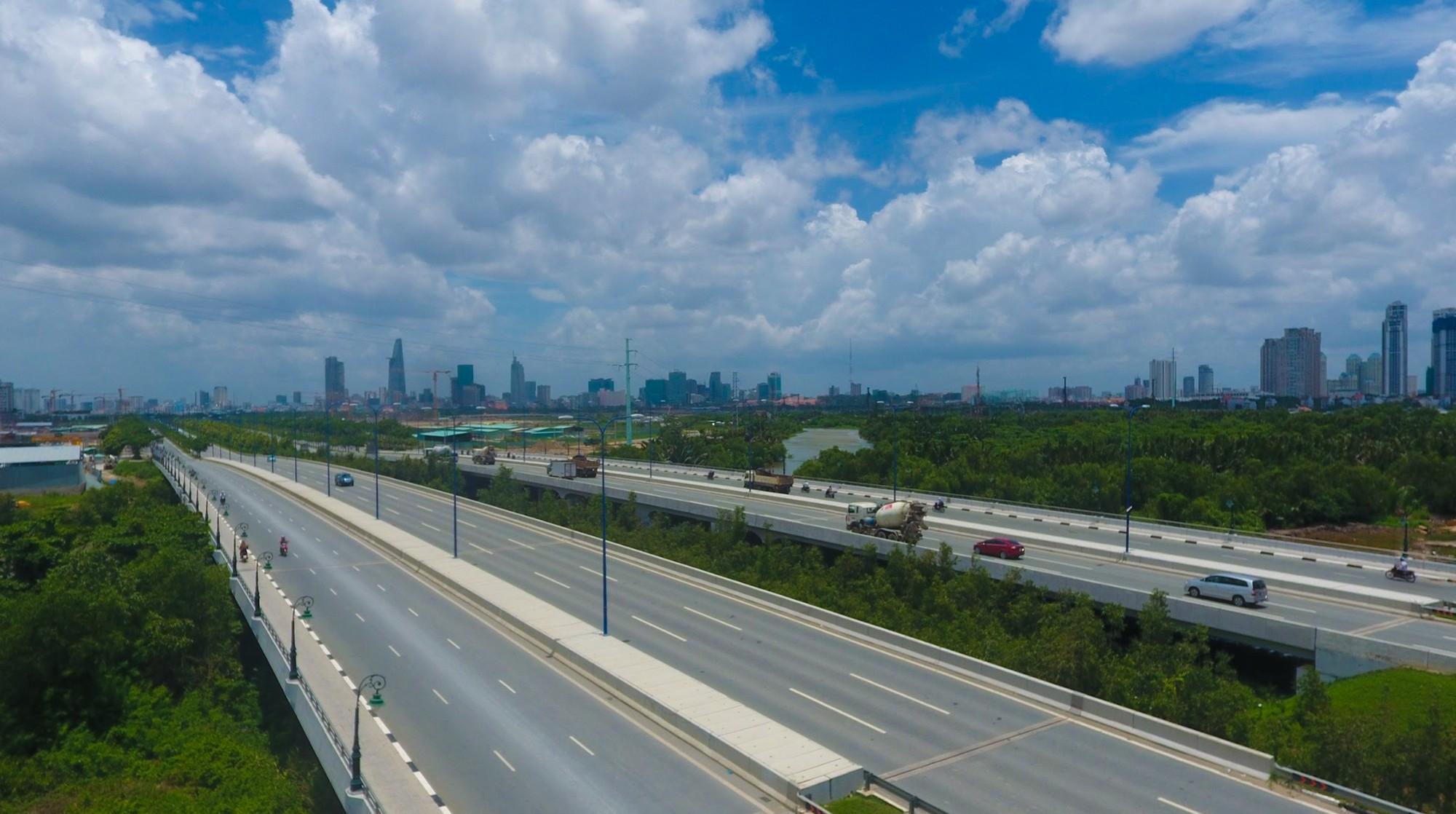 Diện mạo bán đảo Thủ Thiêm - khu đô thị đẹp nhất Sài Gòn nhìn từ trên cao - Ảnh 7.