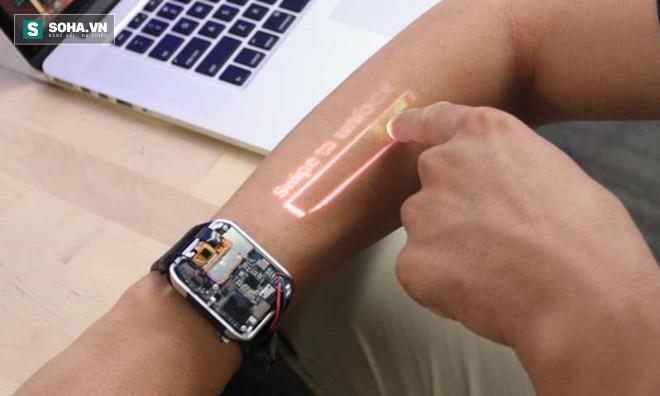 Biến cánh tay thành đồng hồ có màn hình cảm ứng như phim giả tưởng đã không còn xa vời - Ảnh 1.