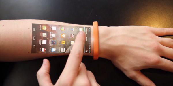 Biến cánh tay thành đồng hồ có màn hình cảm ứng như phim giả tưởng đã không còn xa vời - Ảnh 2.