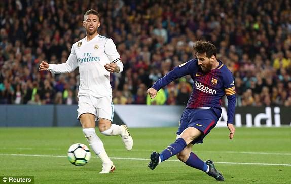 Ronaldo chỉ đá nửa trận, Real Madrid không ngăn nổi siêu kỷ lục của Barcelona - Ảnh 3.