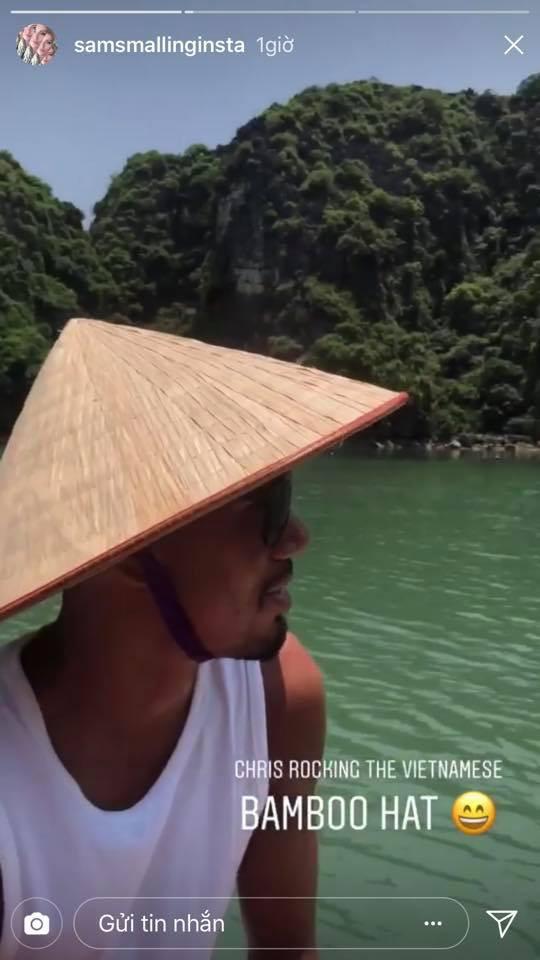 Tiếp tục chuyến du ngoạn Việt Nam, Smalling khoe ảnh đội nón lá, thưởng thức phở - Ảnh 2.