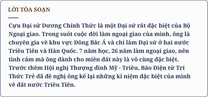 Đại sứ Dương Chính Thức: Tôi may mắn được biết một đất nước Triều Tiên rất khác - Ảnh 1.
