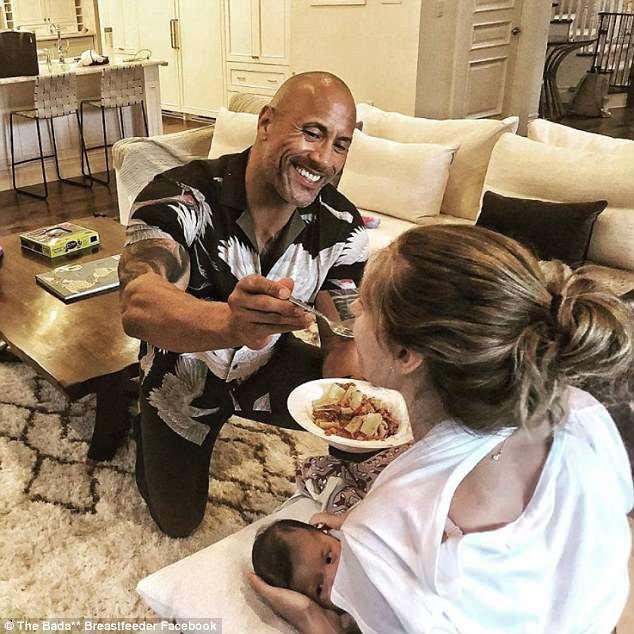 Dwayne Johnson bón cơm cho vợ và sự thật về cuộc sống Ngôi sao cơ bắp nhất Hoollywood - ảnh 1