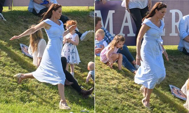 Công nương Kate tiếp tục ghi điểm nhờ thần thái giống với mẹ chồng quá cố - Ảnh 2.