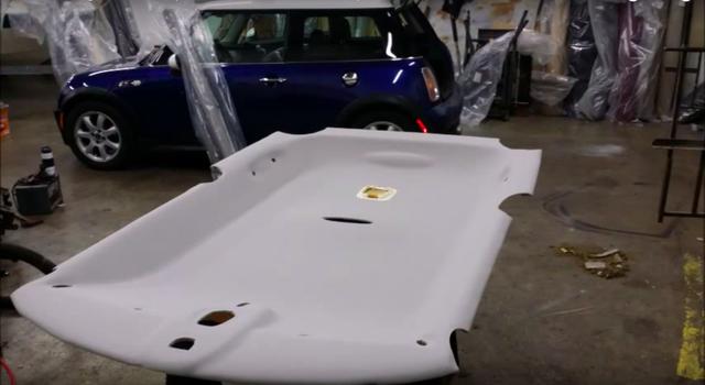Video 1 phút này cho bạn biết trần xe hơi được sản xuất như thế nào - Ảnh 3.