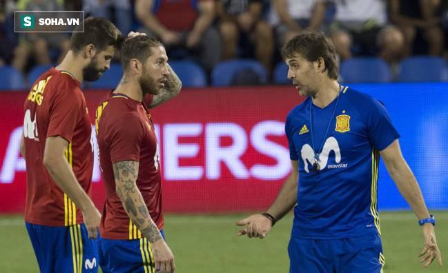 Nhận lời với Real Madrid, HLV đội tuyển Tây Ban Nha có thể bị sa thải ngay trước World Cup - Ảnh 1.