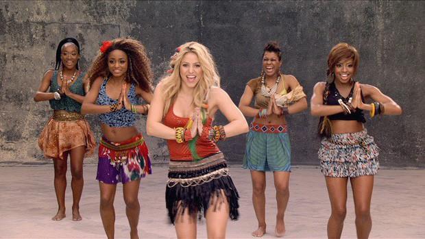 World Cup 2010: Nơi tình yêu bắt đầu của Pique và Shakira - Ảnh 1.