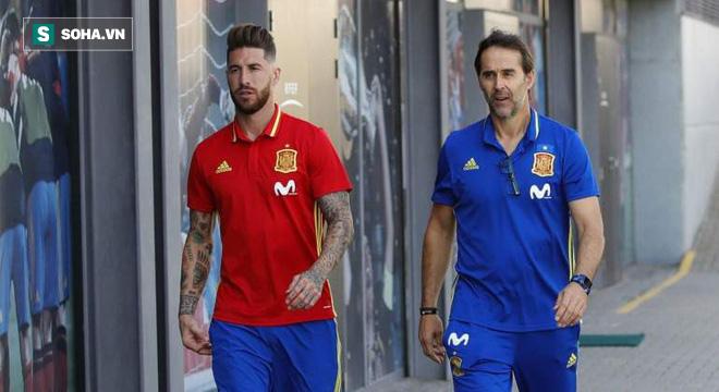 Chính thức: Đội tuyển Tây Ban Nha sa thải HLV Lopetegui vì đi đêm với Real Madrid - Ảnh 1.