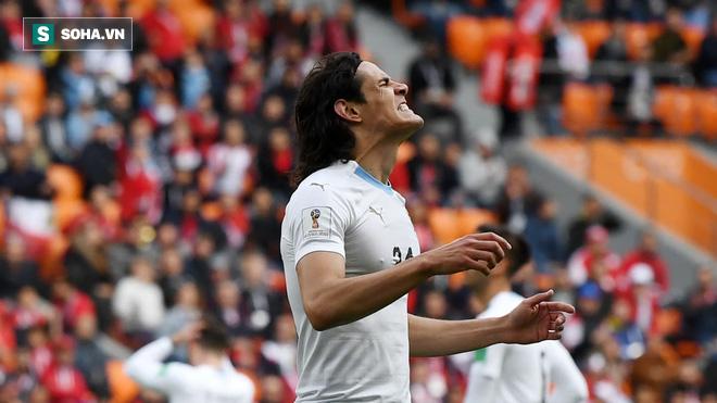 Suarez ở tận cùng thất vọng, Salah đã nở nụ cười nhưng sau tất cả Uruguay lại được ăn mừng 4