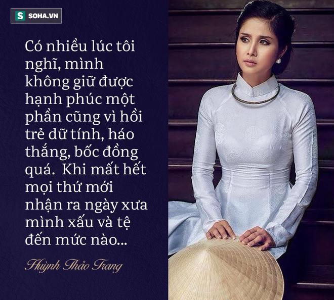 Thảo Trang lần đầu chia sẻ góc khuất chuyện ly hôn cựu tuyển thủ Phan Thanh Bình - Ảnh 6.