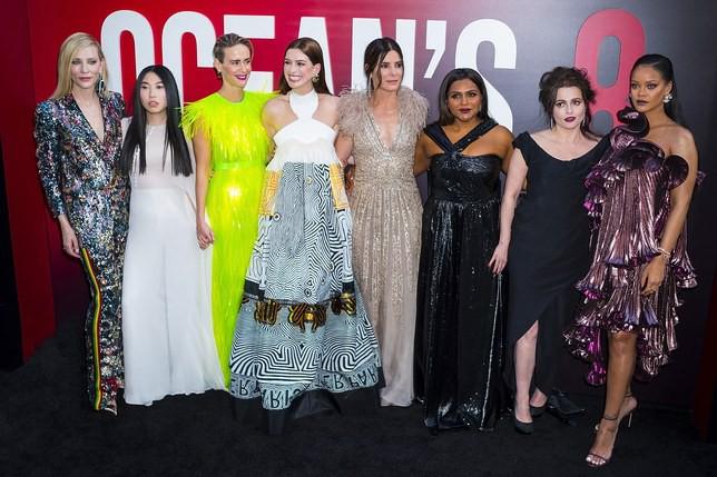 Đóng phim khi vẫn đang cho con bú, Anne Hathaway khiến đoàn phim Oceans 8 phải ngưng quay - Ảnh 3.