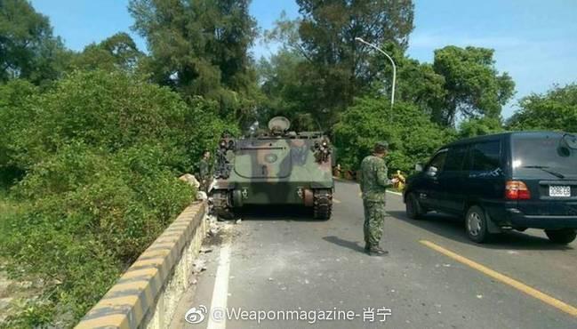 Huấn luyện yếu kém, xe tăng - thiết giáp Đài Loan liên tiếp gặp nạn 1