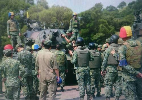 Huấn luyện yếu kém, xe tăng - thiết giáp Đài Loan liên tiếp gặp nạn 4