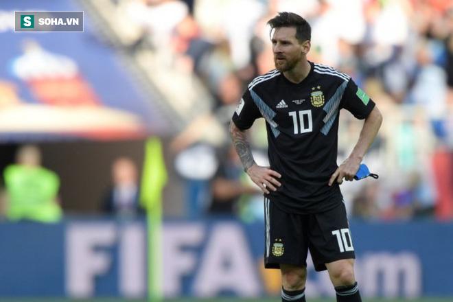 """Hai """"món quà' ý nghĩa khiến Messi nhẹ lòng sau nỗi buồn Iceland 1"""