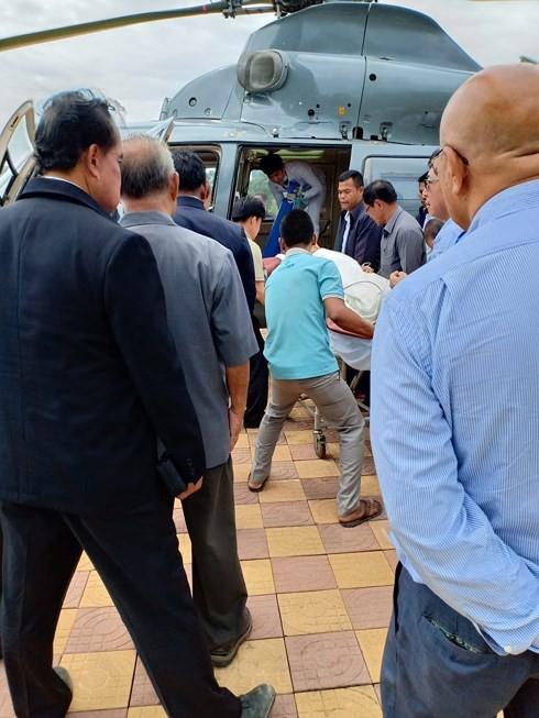 Hoàng thân Campuchia bị thương nặng do tai nạn giao thông - Ảnh 2.