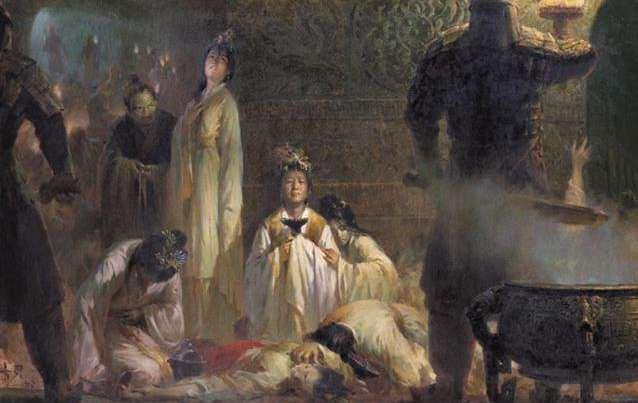 Sự kiện tuẫn táng tàn nhẫn nhất lịch sử TQ: Hạ độc kế giết sống thường dân để bồi táng - Ảnh 1.