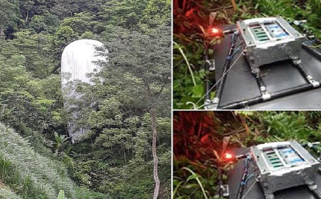 Cơ quan quân sự đã huỷ bỏ vật thể rơi xuống rừng ở Hà Giang - Ảnh 1.