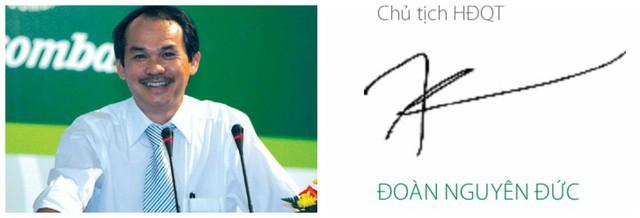 Xem chữ ký đáng giá nghìn tỷ của các doanh nhân quyền lực trên thương trường Việt - Ảnh 2.