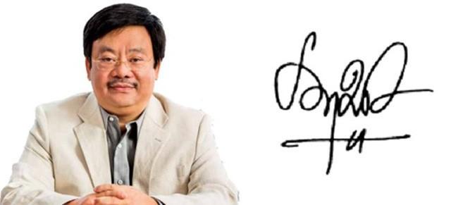 Xem chữ ký đáng giá nghìn tỷ của các doanh nhân quyền lực trên thương trường Việt - Ảnh 3.