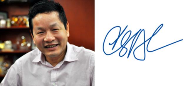Xem chữ ký đáng giá nghìn tỷ của các doanh nhân quyền lực trên thương trường Việt - Ảnh 5.